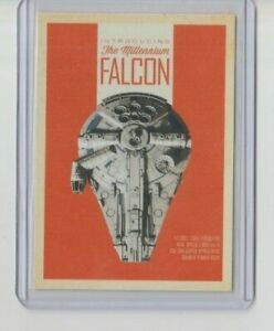 Solo Star Wars Story Vehicle Trading Card The Millennium Falcon #SV-1