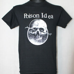 POISON IDEA Shirt S,M,L,XL Necros/Accüsed/Negative Approach/Wipers/Black Flag/HC