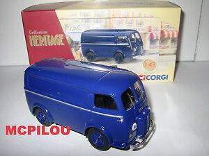 Corgi Legacy EX70622 Peugeot D3A Van/Wagon Sheet Blue to the / Of 1 /43°