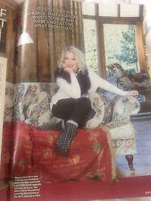 OK! Magazine December 2015 KIM WILDE PHOTO INTERVIEW SHANE FILAN