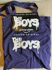Amazon Prime Video THE BOYS Series Tote Bag and TV Show Logo Magnet