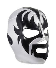 KISS (pro-fit) Adult Lucha Libre Mexican Wrestling Mask - Black/Grey