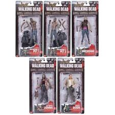 AMC The WALKING DEAD series 3 action figure set~McFarlane~Michonne~TV~NIB