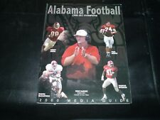 Alabama Crimson Tide Football 2000 media guide MIKE DUBOSE