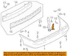 MAZDA OEM 02-03 Protege5 Rear Bumper-Lower Shield Right BN5V50342