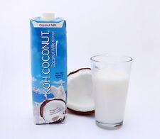 KOH COCONUT -Non Diary Coconut Milk - 12 Pack (33.8FL 1 Liter) Tetra Paks