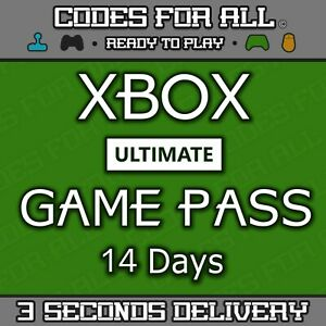 XBOX LIVE 14 Day GOLD + Game Pass (Ultimate) Code INSTANT DELIVERY Xbox One Only
