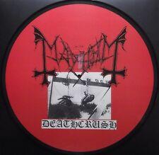 MAYHEM deathcrush picture LP  rare !!!  immortal darkthrone ulver satanic absu