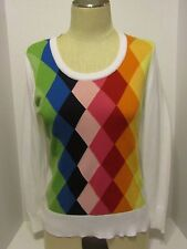 Women's Liz Claiborne Petite Pullover Top Long Sleeve  PM  NWT