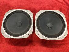 Premium Vintage 1977 Sony SSU-3000 Speaker System Woofers ~ Mint!