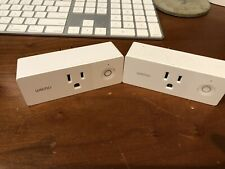 Wemo Mini WiFi Smart Plug - 2pack