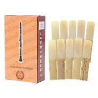 10pcs 2.5 Strength Clarinet Reeds Music Instrument Part Traditional Bamboo Reeds