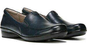 Naturalizer Channing Shoe Navy Leather