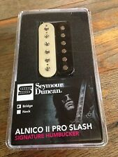 Seymour Duncan Slash Alnico II Pro Humbucker Bridge Pickup 4c Wire Zebra APH-2