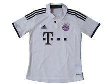 Adidas FC Bayern München Kinder Trikot Gr 128 140 152 164 176 Jersey Weiß neu