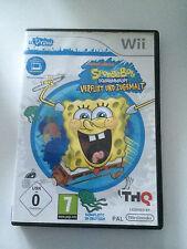 Nintendo Wii Spiel - SpongeBob Schwammkopf: Verflixt und zugemalt