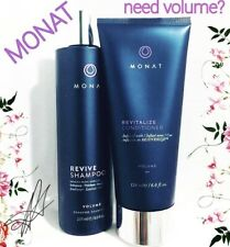 Monat Volume Revive Shampoo & Revitalize Conditioner NEW Healthy Hair Growth