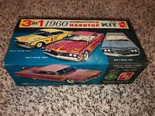 1960 AMT Ford Starliner Customizing Hard Top Model Box Kit 1/25 scale 3 in 1