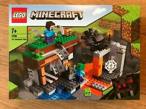 Lego 21166 Minecraft The Abandoned Mine 248 pieces Age 7 plus~NEW & Unopened~