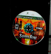 Saints Row Platinum Hits XBOX 360 LIVE (Microsoft Xbox 360, 2008)