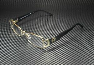 VERSACE VE1163M 1252 Pale Gold Demo Lens 52 mm Women's Eyeglasses