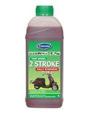 2 Stroke Engine Oil ,Fully Synthetic, Low Ash, Motorbike, Mopeds,Scooters Comma