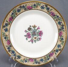 Set of 6 Bawo & Dotter Limoges Art Nouveau Floral Luncheon Plates C. 1920 - 32