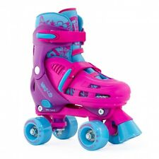 SFR Lightning Hurricane Childrens Quad Roller Skates Size Adjustable Childs 12 - Childs 2