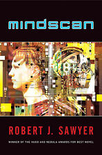 MINDSCAN Robert J. Sawyer signed trade paperback