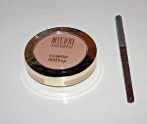 Milani Minerals Compact Makeup 103+jordana Lipliner Chocolate Shake Lot Of 2 New