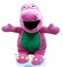 Barney and Friends Barney Nine Inch Plush Barney The Dinosaur Plush Stuffed Toy