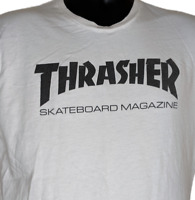 Thrasher Skateboard Magazine Tshirt Size Medium Skateboarding White