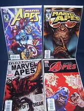 Marvel Apes #1 -#4  NM with Bag and Board Marvel Comics