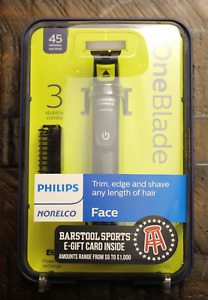 Philips Norelco OneBlade Hybrid Rechargeable Men's Electric Shaver and Trimmer