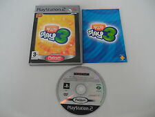 EyeToy Play 3 (PAL) Playstation 2 PS2 PS3 Sony Complete OVP CIB