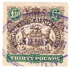 (I.B) Rhodesia/BSAC Revenue : Duty £30