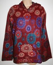 New Gringo Acrylic Fleece Hoody M chest up to 40 inches Hippy Fairly Traded