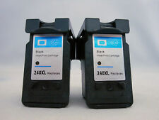 PG240 XL Black Ink Cartridge for Canon Pixma MG3620 MG4120 MX532 MX472 MX452 2PK