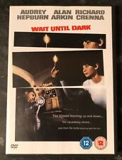WAIT UNTIL DARK DVD 1967 (AUDREY HEPBURN) RARE AS GOOD AS NEW MINT CONDITION