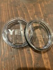 New! 2-pack Authentic Yeti Rambler Replacement Lids for 10oz or 20oz Tumblers