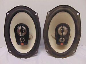 """Pair of JBL Decade 6"""" x 9"""" Three Way Automotive Speaker DS965 5W-100W"""