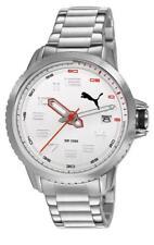 Puma reloj turbina 3hd metal Silver Pu103281001 Análogo acero inoxidable plata