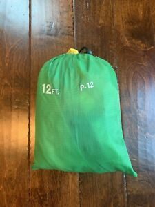 PLAYCHUTE PARACHUTE - 12 FT- RAINBOW WITH HANDLES w/ case