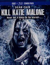BRAND NEW BLU-RAY/DVD COMBO // KILL KATIE MALONE //Masiela Lusha, DEAN CAIN