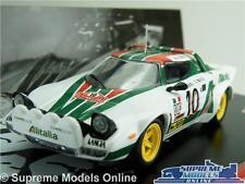 LANCIA STRATOS HF RALLY MODEL CAR MUNARI MAIGA 1:43 SCALE 1976 IXO CARLO K8Q