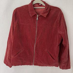 vintage corduroy jacket xl