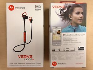Motorola Verve Loop+ Super Light, Waterproof, Wireless Stereo Bluetooth Earbuds