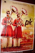 """PK (2014) BOLLYWOOD POSTER # 1 AAMIR KHAN  27 """"X 37"""""""