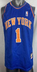 HARDWOOD CLASSICS NEW YORK NBA BASKETBALL JERSEY STOUDEMIRE #1 - SIZE XL F273