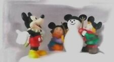 Department 56 Mickey Mouse Building A Snowman/75 years with mickey